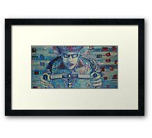 Road Warrior No.1- Building Anger Framed Print