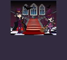 Gothic Stairs and Witch 7 Unisex T-Shirt