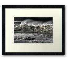 Seascape_6198 Framed Print
