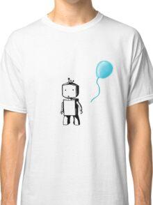 Robot Balloon - Blue Classic T-Shirt