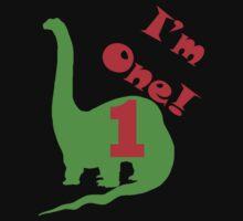 I'm One Dinosaur Kids Tee