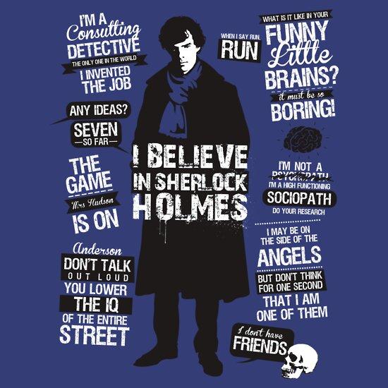 TShirtGifter presents: Sherlock Quotes