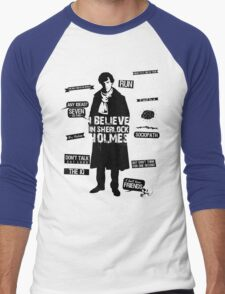 Detective Quotes Men's Baseball ¾ T-Shirt