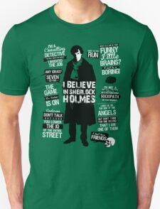 Detective Quotes Unisex T-Shirt