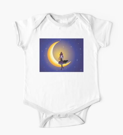 Witch on the Moon One Piece - Short Sleeve