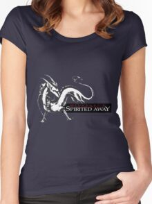 Spirited away dragon Women's Fitted Scoop T-Shirt