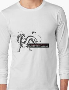 Spirited away dragon Long Sleeve T-Shirt