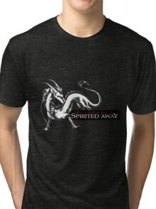 Spirited away dragon Tri-blend T-Shirt