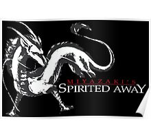 Spirited away dragon Poster