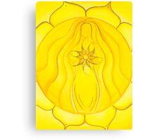 3rd Chakra - Solar Plexus Chakra Canvas Print
