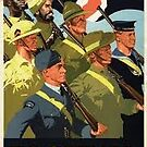 Allied Troops; WW2 by Ian A. Hawkins
