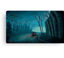 Night Ride Canvas Print