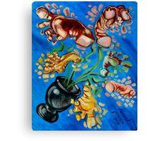 Spring Feet Canvas Print