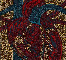 Heart by celerywoulise