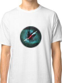 Deer in Pixel Space Classic T-Shirt