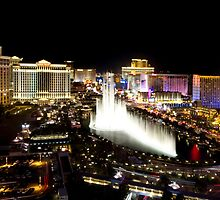 Vegas at night by Jodie Johnson