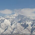 Snow Capped Lone Peak and Twin Peaks by Brian D. Campbell