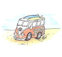 VW Photographic Print
