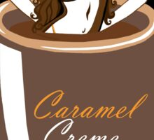 Coffee Cuties Caramel Creme Sticker