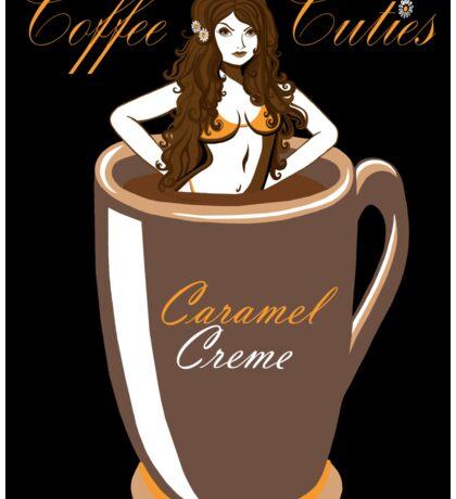 Coffee Cuties Caramel Creme Sticker