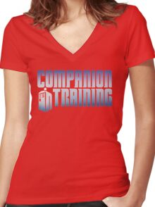Companion in Training Women's Fitted V-Neck T-Shirt