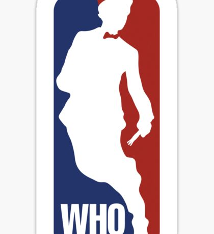 WHO Sport No.11 Sticker