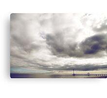 Boardwalk Sunset Canvas Print