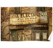 India Electric Co. Poster