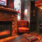 Inside a cafe by zumi