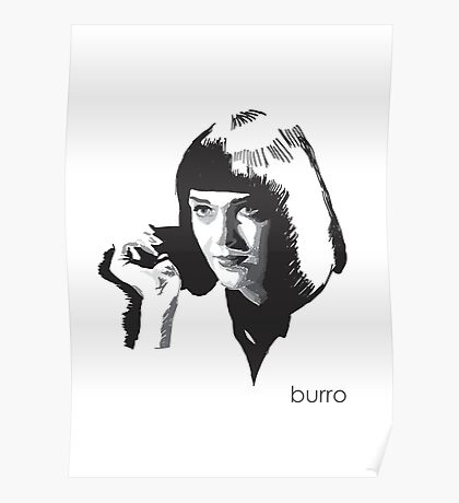 Mia Wallace by burro Poster