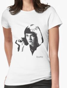 Mia Wallace by burro Womens Fitted T-Shirt