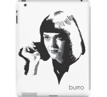 Mia Wallace by burro iPad Case/Skin