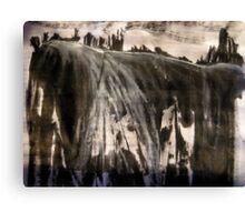 peak plateau.... dimmed afternoon light Canvas Print