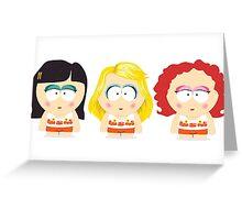 South Park Raisins Girls Greeting Card