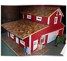 Horse Barn (A Miniature) Poster