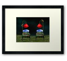 Poppy Dreams & Chameleon Schemes Framed Print