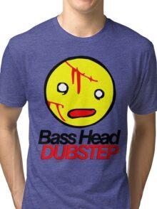 Bass Head Dubstep  Tri-blend T-Shirt