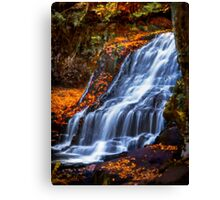 Wadsworth Falls Canvas Print