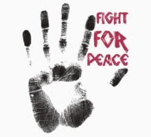 Fight for Peace Kids Clothes