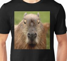 Portrait of a rather handsome capybara Unisex T-Shirt