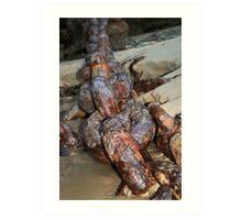 History Rusting Art Print