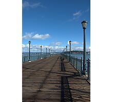 Pier Blue Sky Photographic Print