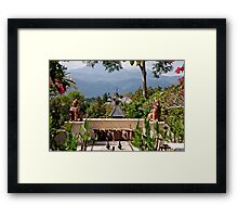 Four Seasons Vista Framed Print