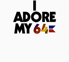 I Adore My 64 (Black) Men's Baseball ¾ T-Shirt