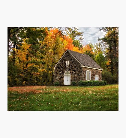 The Chapel at Wintergreen Gorge Cemetery Photographic Print