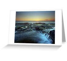 """Cascade"" ∞ Woody Head, NSW - Australia Greeting Card"