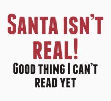 Santa Isn't Real Kids Clothes