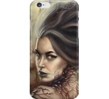 Ice Queen - Magical Wintery Woman iPhone Case/Skin
