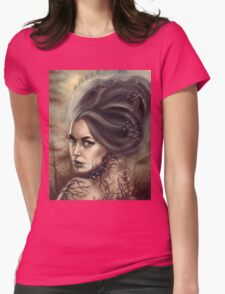 Ice Queen - Magical Wintery Woman Womens Fitted T-Shirt