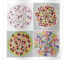 Vegetable circles Poster